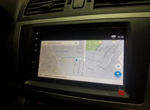 Mazda 6 wymiana radia